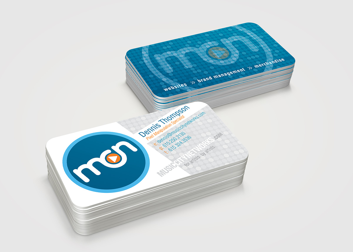 MCN - Business Card Design