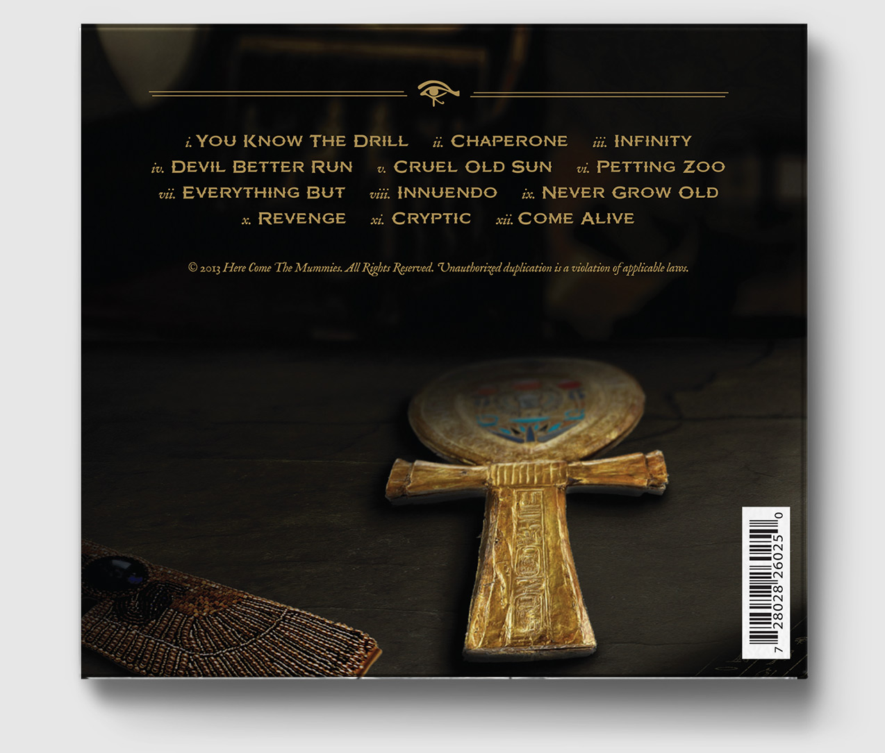 Cryptic - Back Cover