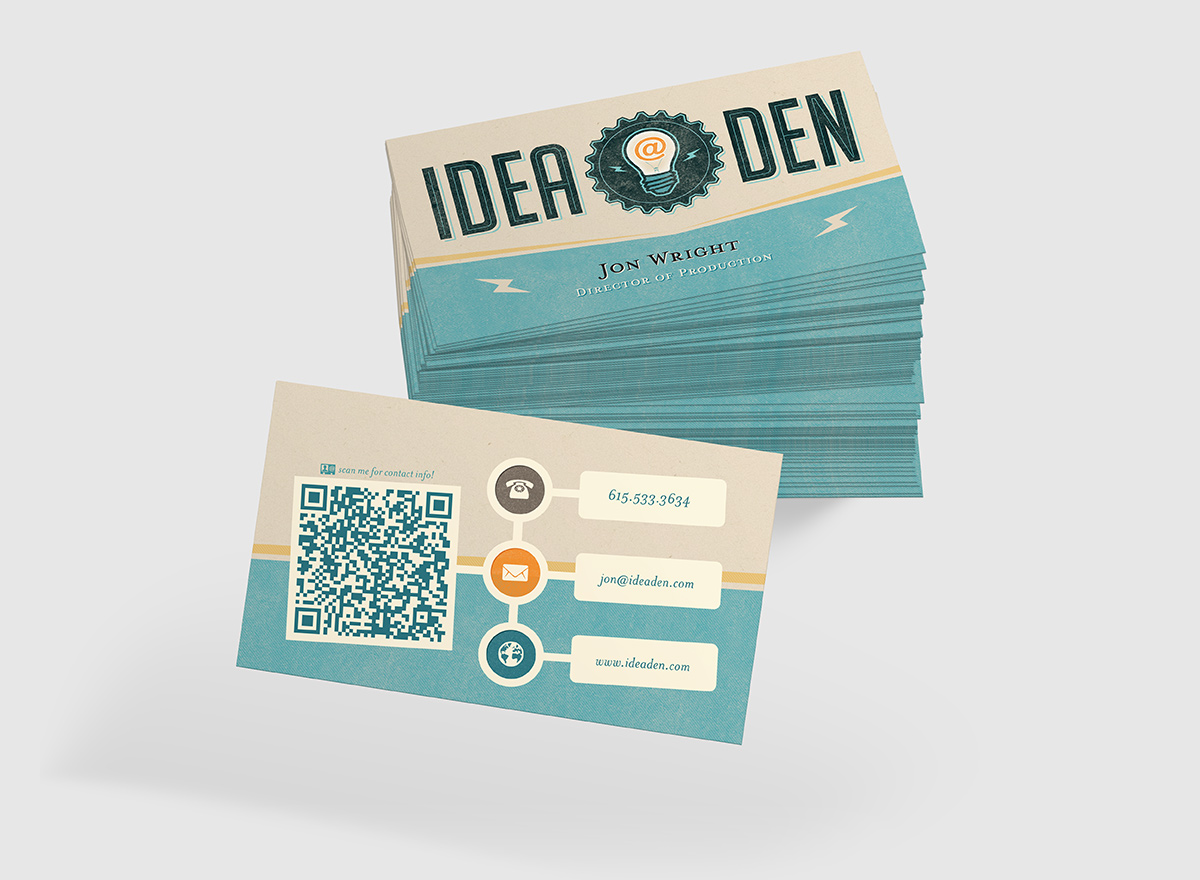 Idea Den - business card