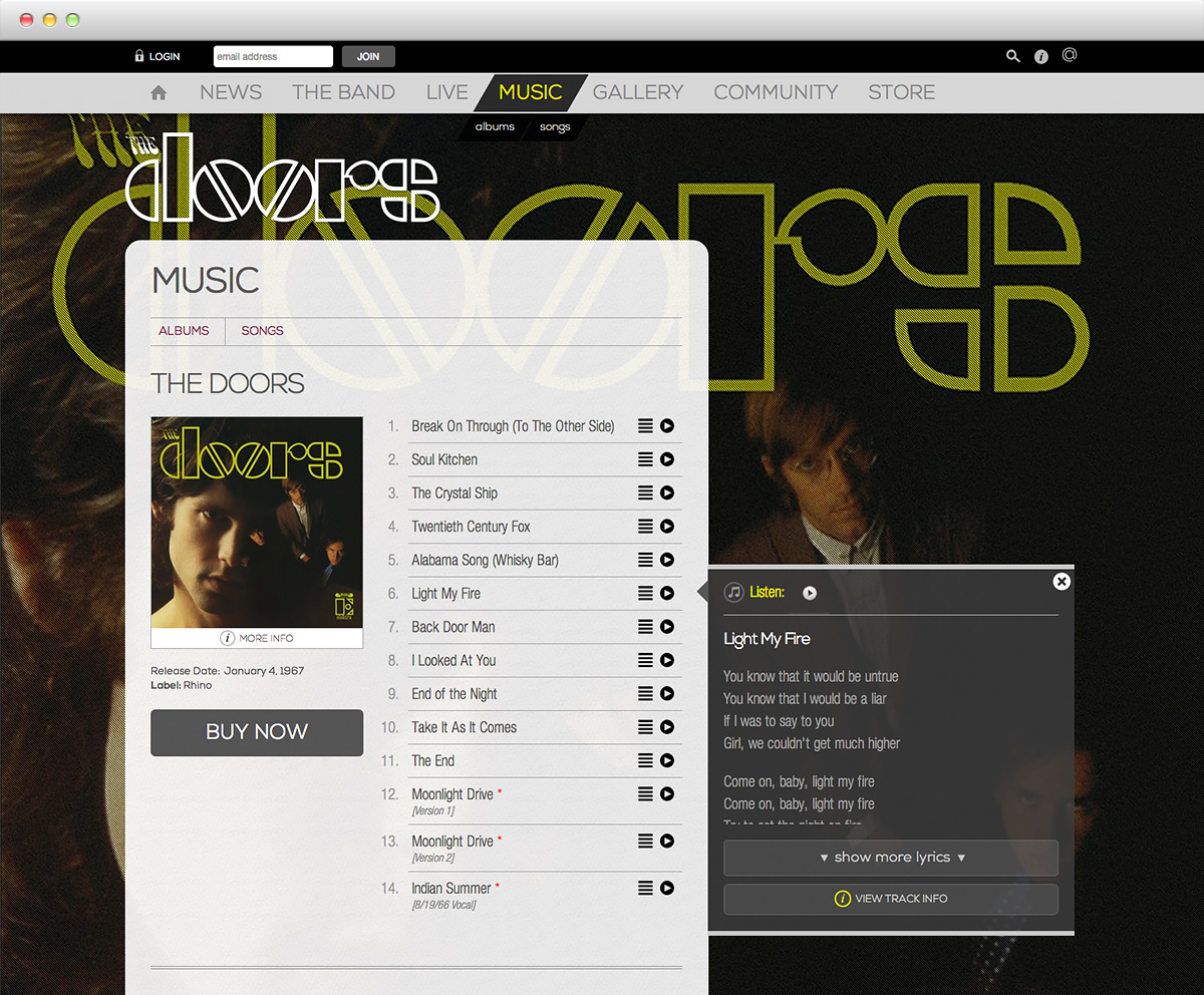 The Doors - Discography