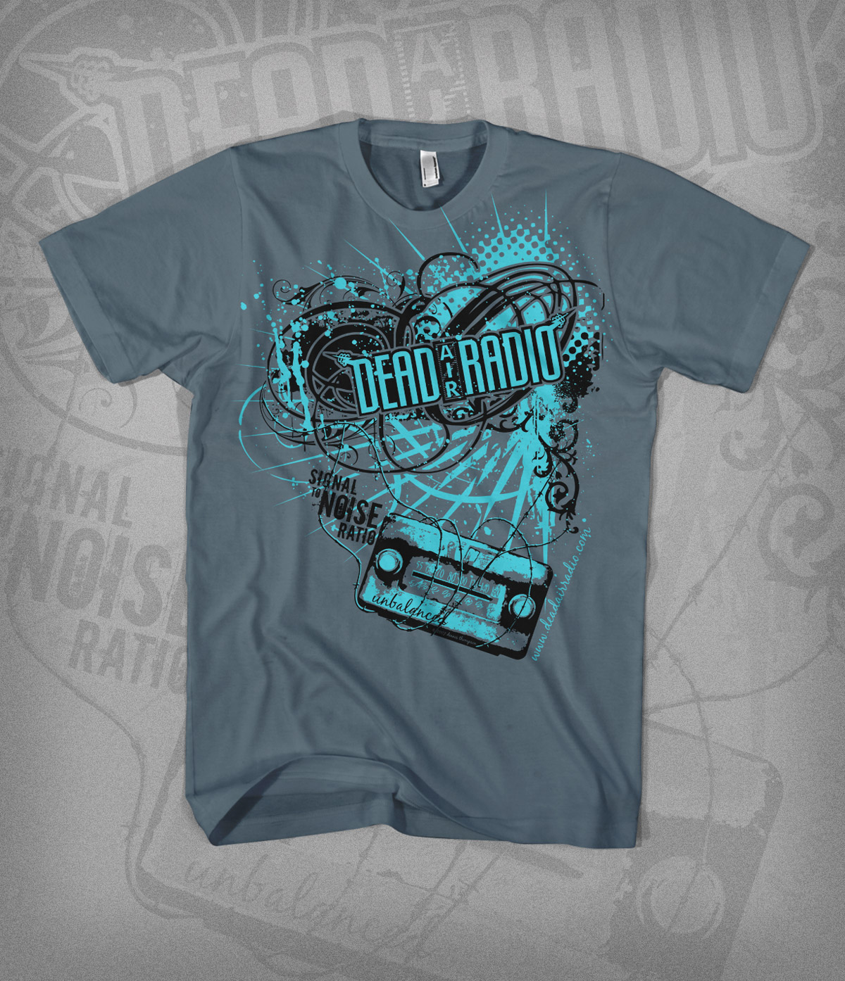 STNR tshirt design - gray